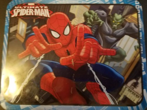 Spiderman metal lunch box