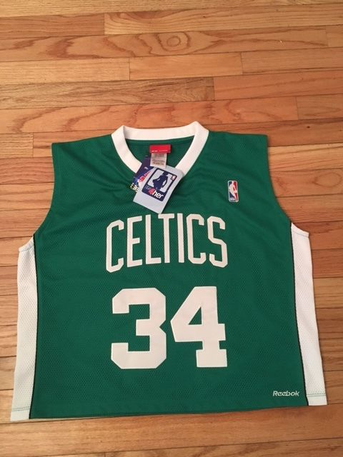 Paul Pierce Boston Celtics NBA 4 Her Womens Reebok Jersey NWT Size XL