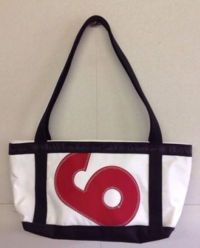 Ella Vickers Sailcloth Collection ~Tote/Purse ~ Red 6 ~ NWOT