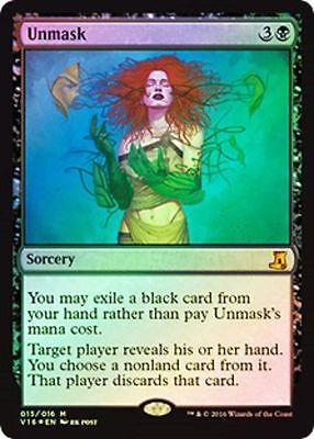 Foil Unmask NM From the Vault: Lore
