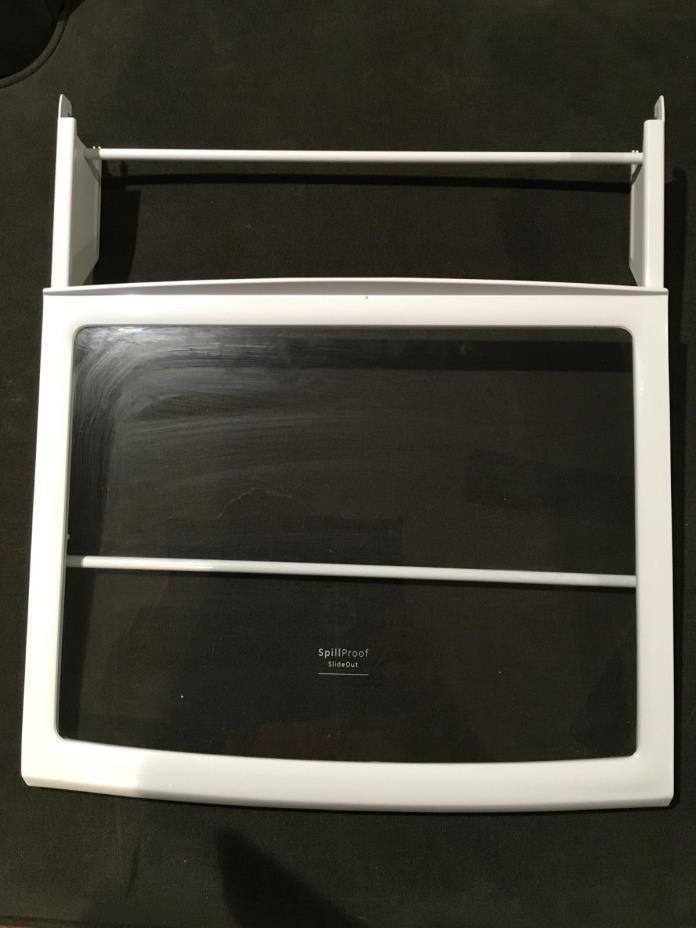 GE Profile Refrigerator M/N PFCS1RKZHSS Shelf Assembly Slideout P/N WR71X10873