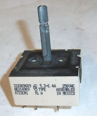 for Kenmore Electric Range 790.44172601 ~ OEM Part: Control Switch 318369609