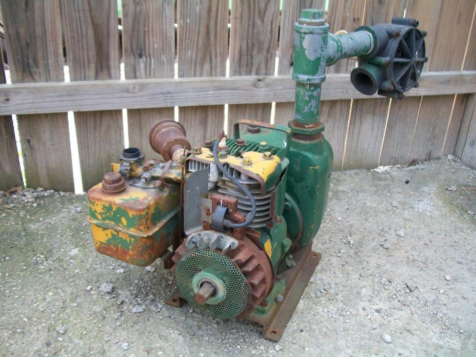 BRIGGS & STRATTON HORIZONTAL SHAFT WATER PUMP ENGINE