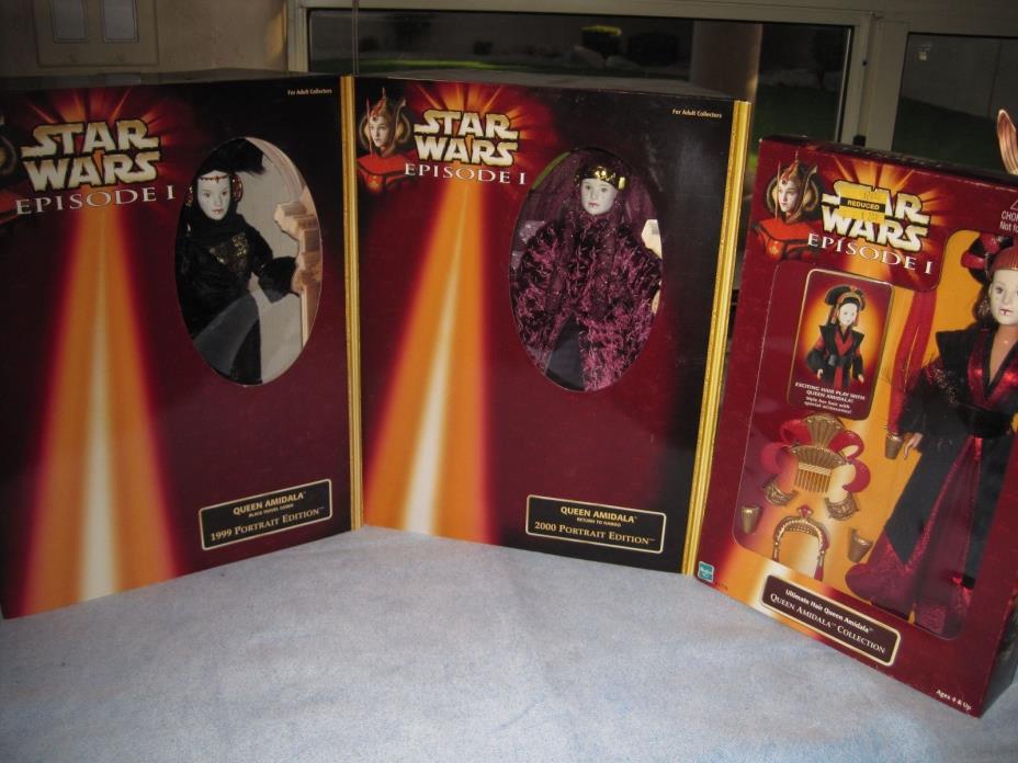 Star Wars-Queen Amidala Dolls (3)-Nice!