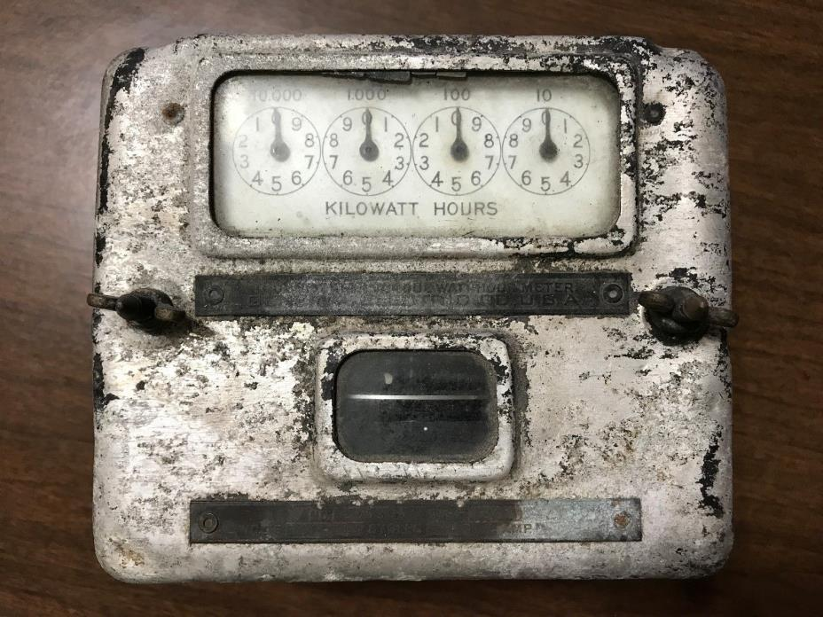 Vintage Hour Meter : Watt hour meters for sale classifieds