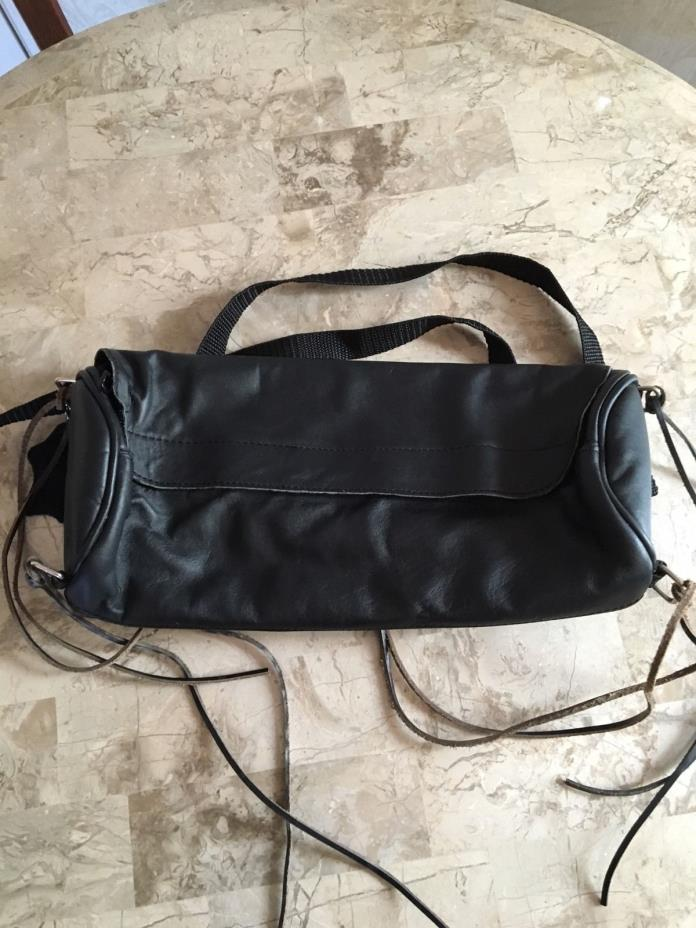 Small Leather motorcycle Tool Bag Pouch