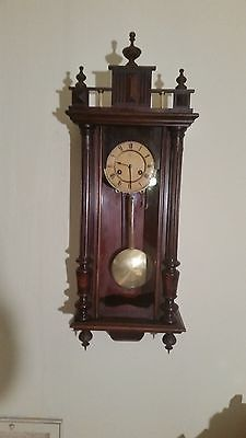 ANTIQUE JUNGHANS  WALL REGULATOR CLOCK