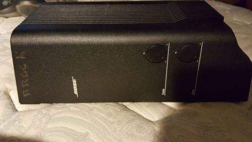 Bose Acoustimass Amplifier 2-Channel