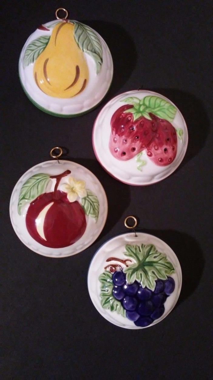 Vintage Gailstyn-Sutton Towle co. Hand painted ceramic wall decor