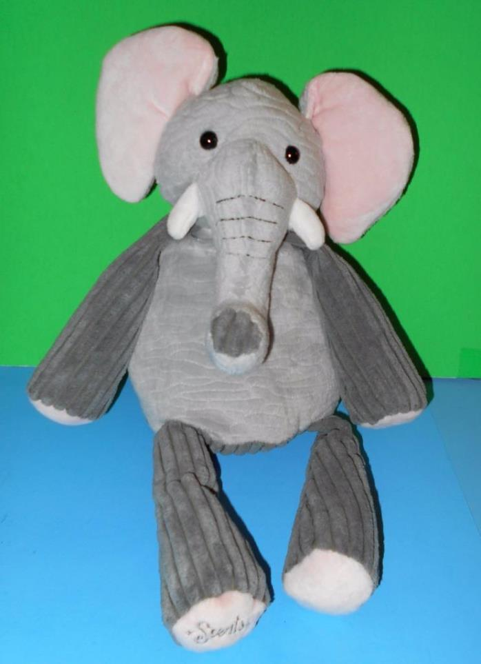 Adorably Cute Ollie Elephant Scentsy Buddy Air Freshener Satin Sheets Scent Pack