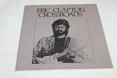 Eric Clapton Crossroads Booklet