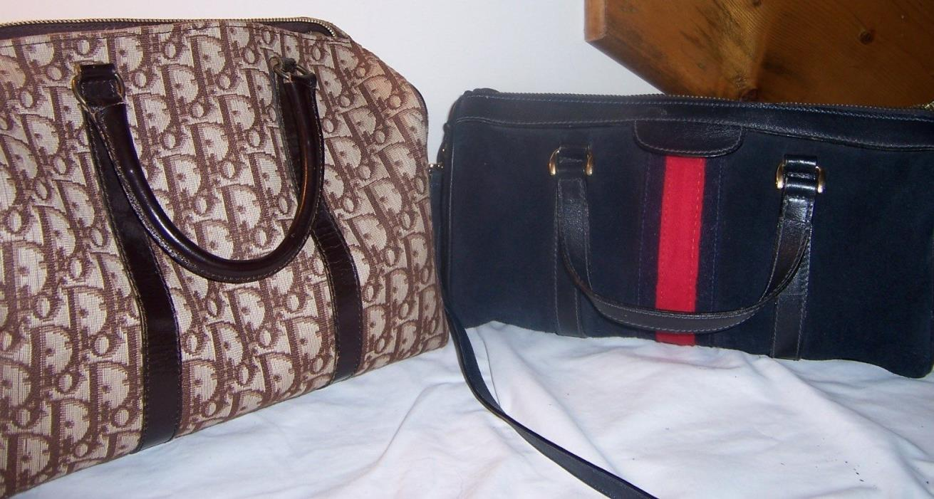 Authentic! Gucci barrel bag & Dior speedy bag