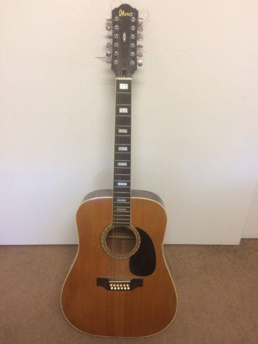 Vintage Ibanez 12 String Guitar ('70s)