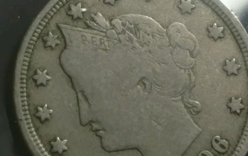 1906 Liberty Nickel - almost Full Liberty!!