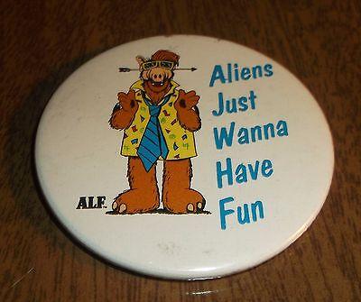 1987 Alien Production Magnet - Alf