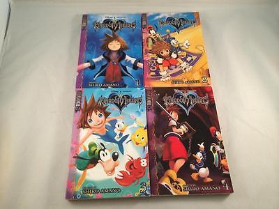 TOKYOPOP KINGDOM HEARTS MANGA VOLUME 1, 2, 3 ,4 TRADE PAPER BACK TPB
