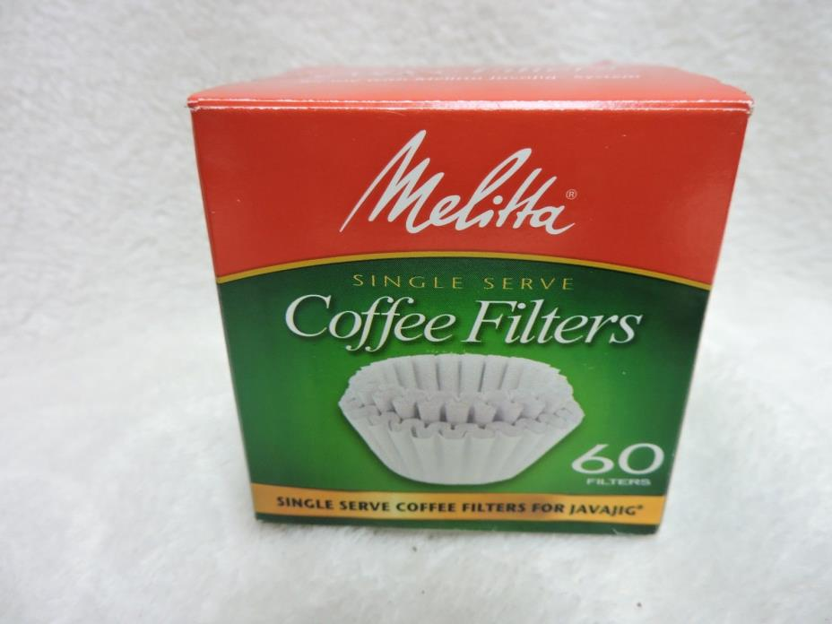 Melitta JavaJig coffee filters 60