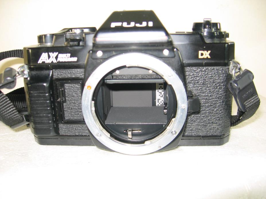 Fuji AX Multiprogram 35mm SLR camera body only, parts/repair