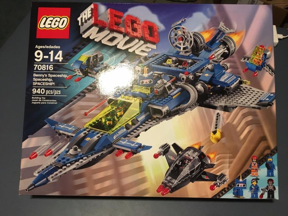 LEGO CITY **70816 BENNY'S SPACESHIP MISB** NEW