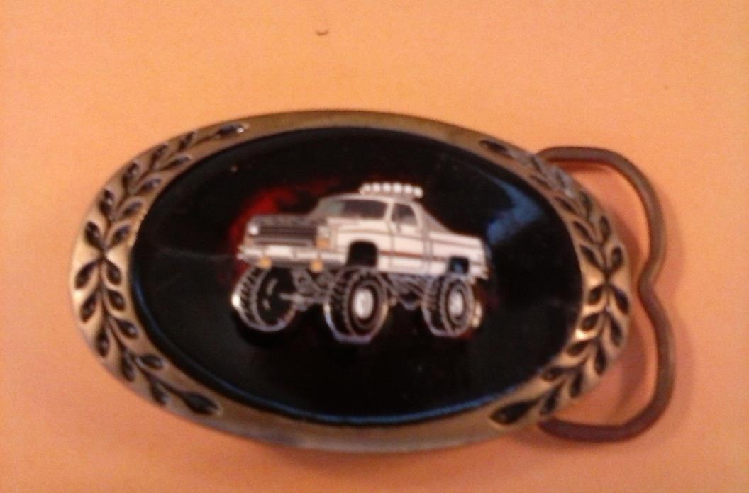 Car Belt Buckle-Classic Monster Truck Type