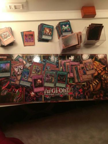 Yugioh Card Lot 100 With Rarities Included!! 10 Foils Good Deal!