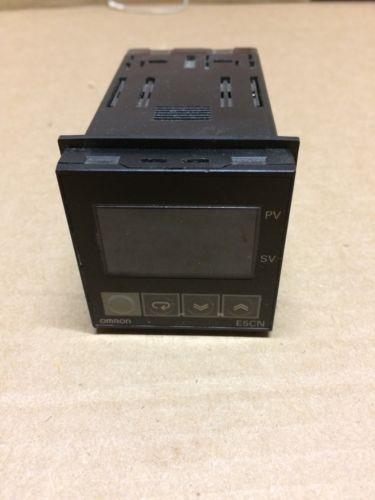 TEMPERATURE CONTROLLER, OMRON E5CN. Used