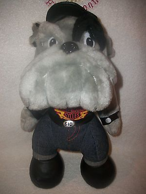 Harley Davidson Motor Cycles Bulldog Plush Doll
