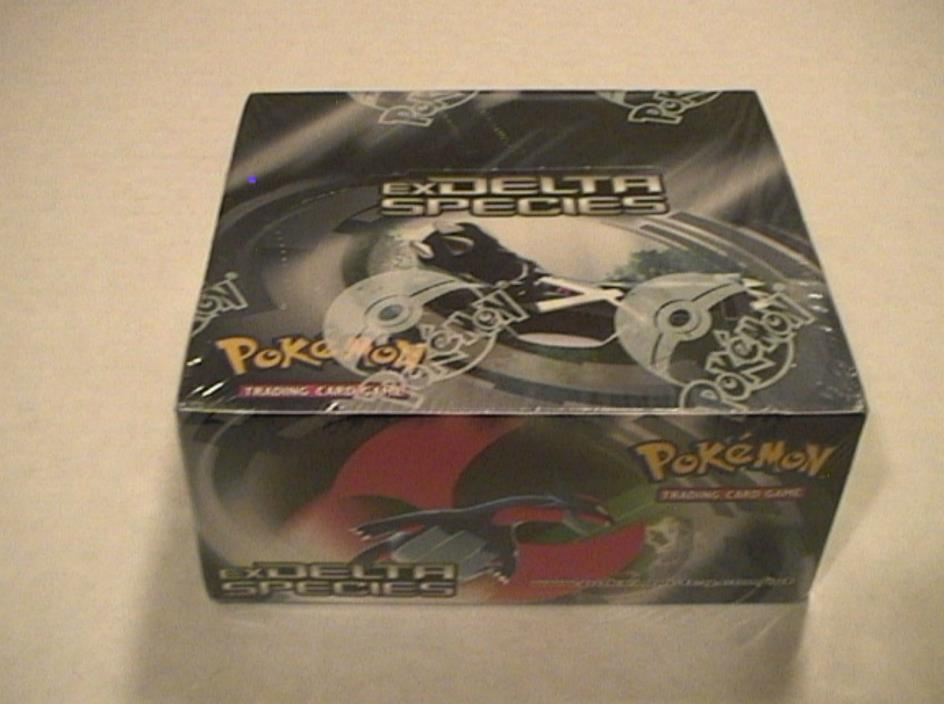 Pokemon EX DELTA SPECIES Factory Sealed Booster Box 36 Packs - Nice Box