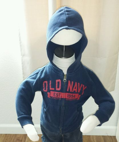 Old Navy Zip up Sweater, Size 2T