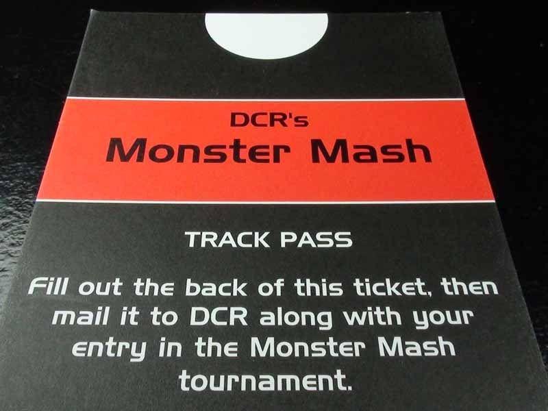 DCR Track Pass
