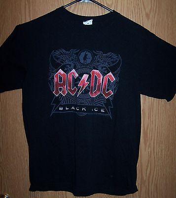 ACDC - Black Ice Medium Anvil 100% Cotton Pre Shrunk