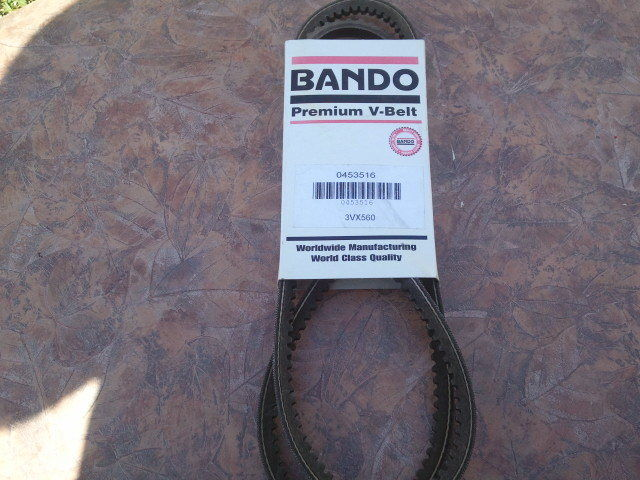 Bando 3VX560 Cogged Deep Wedge Belt 3/8