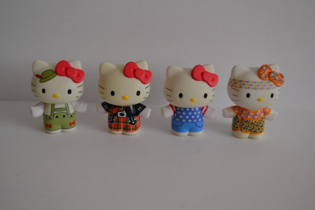 Vtg Sanrio Hello Kitty Figures Urban Outfitters Kenia Germany Scotland USA