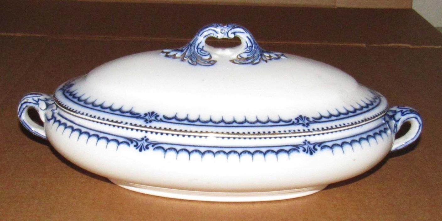Old Booths Simplex Casserole Dish with Lid