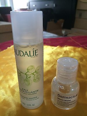 Caudalie Cleansing Water All Skin 1.7oz & Dr. Jart+Dermaclear Micro Water 0.7 oz