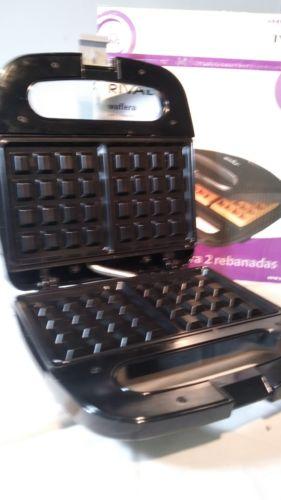 Rival 2 Slice Waffle Maker RVS6128A