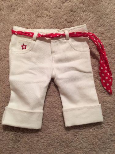 American Girl Store Exclusive White Capris