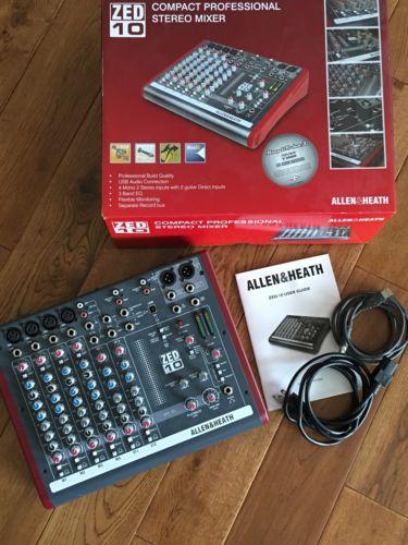 Allen & Heath Zed 10 Compact Stereo Mixer