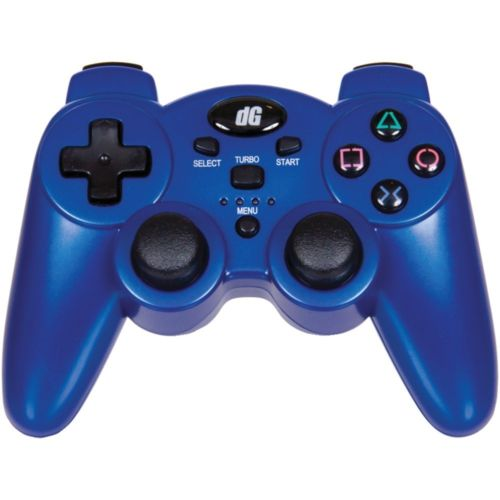 Dreamgear Playstation3 Ergonomic Design Radium Wireless Controller Metallic Blue