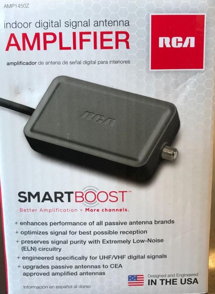 RCA SmartBoost Indoor Signal Amplifier