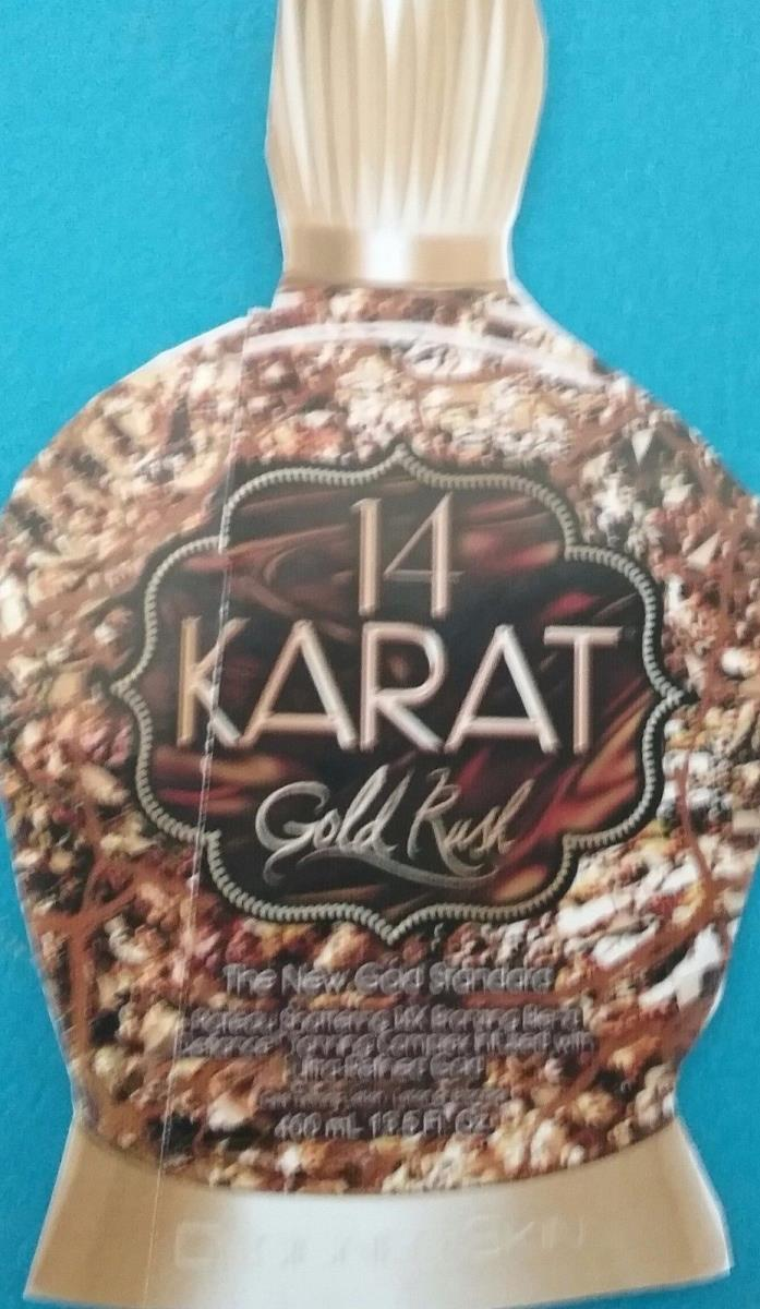 Designer Skin 14 Karat Gold  Rush   Ultra Advanced 14 Bronzing Blend