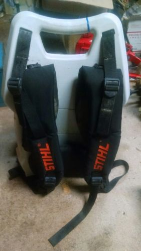 STIHL BR600 MAGNUM BACKPACK BLOWER BACKPLATE / STRAPS / FUEL TANK