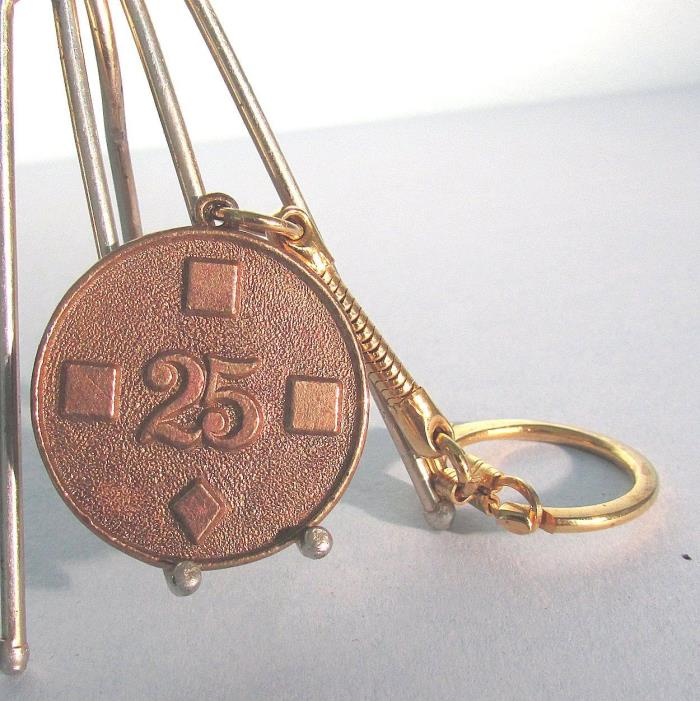 1951-1976 KEYCHAIN Reading Municipal Memorial Stadium Pennsylvania Anniversary