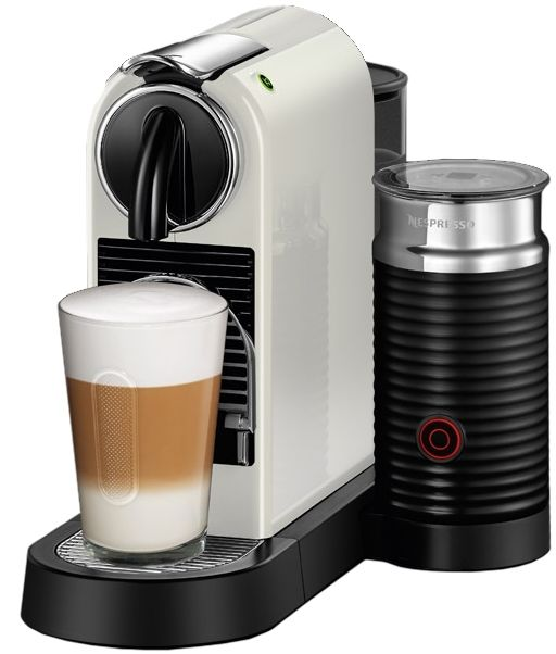 Nespresso D122-US-WH-NE Citiz & Milk Espresso Machine, White …