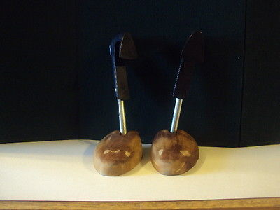 vintage LOT of 2 shoe stretchers  12 inches long
