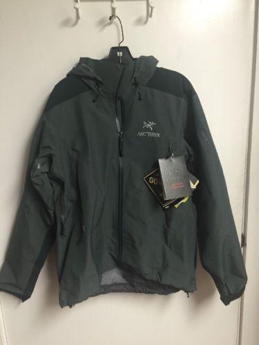Arc'teryx Beta AR Jacket Men's MEDIUM M Nautic Gray 2017 PRO GORE-TEX 12701