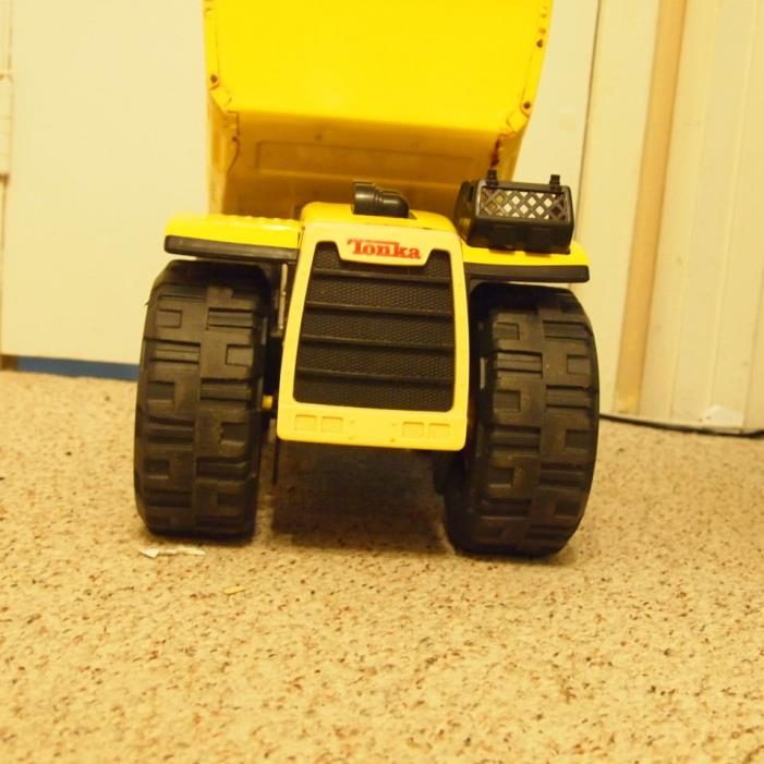 Vintage Tonka Toy, Dump Truck, 9160, Yellow,