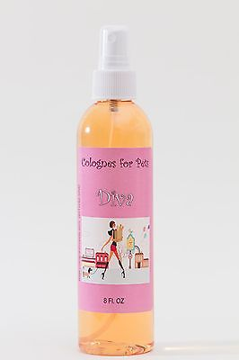 Cologne For Pets Grooming Fur Spray Dog DIVA Pet Fragrance High Quality 8oz