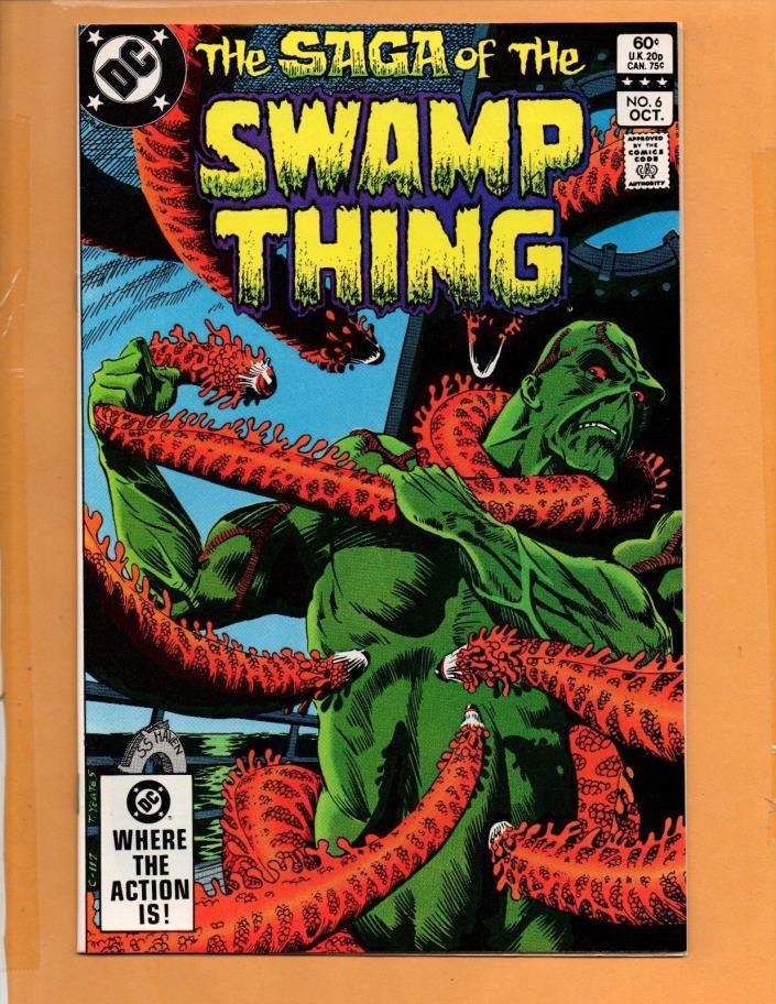 Saga Of The Swamp Thing #6 1982 NM- to NM
