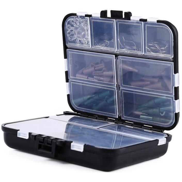 SmartLife 1set Assorted Carp Fishing Accessories Gear Set Box Fast Ship